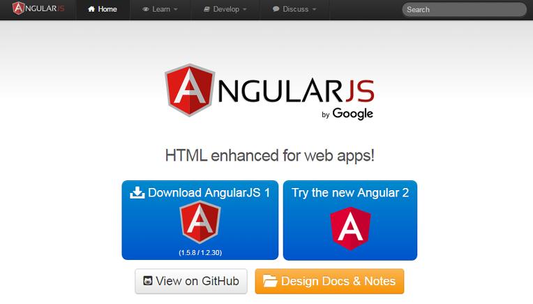 angularjs-environment